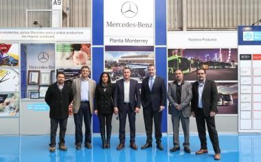 Daimler abre las puertas a autoridades de García, Nuevo León