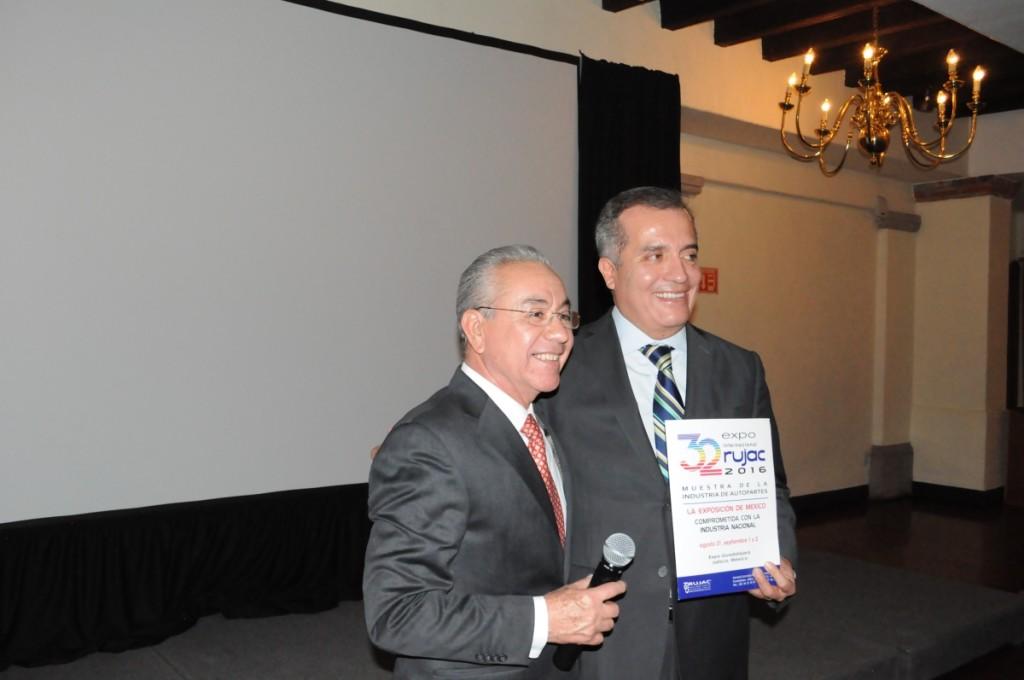 Saúl Palafox y Luis Carlos Ugalde