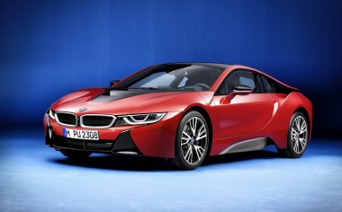 Presentan la edición exclusiva del BMW i8: Protonic Red Edition
