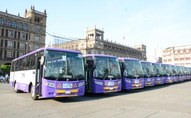 En marcha autobuses DINA para la Ciudad de México