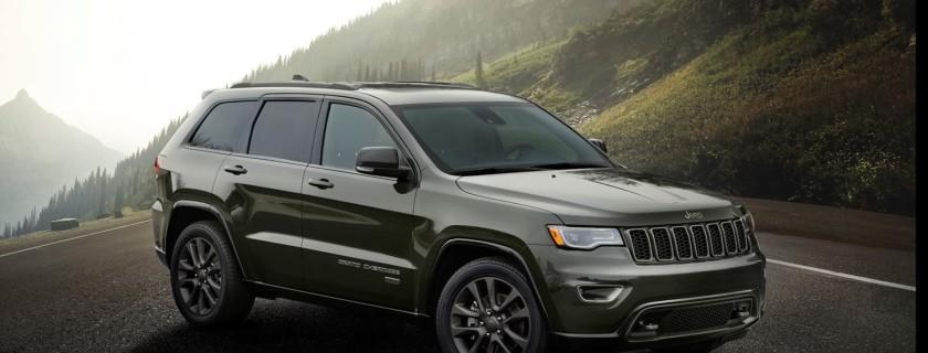 Jeep® Grand Cherokee 2016 Edición 75 Aniversario