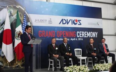 Advics inaugura su primera planta en México