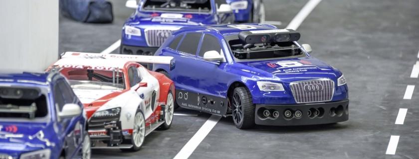 Optimized-Audi Autonomous Driving Cup 2016 en el Museo M+¦vil de Audi
