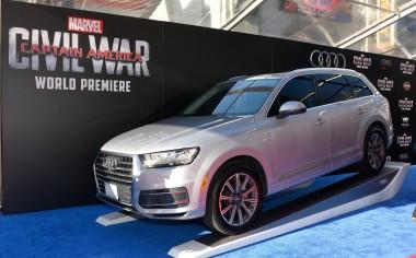 Audi regresa al universo Marvel, ahora con Capitán América: Civil War