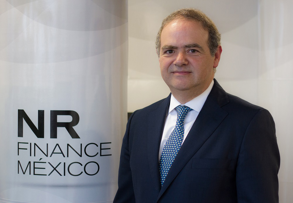 Andrés de la Parra, director general de NR Finance México