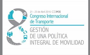 Movilidad y cambio climático, temas del 8vo Congreso Internacional de Transporte