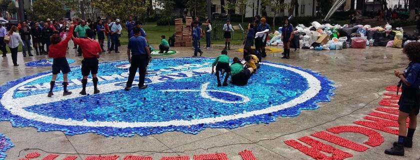 2. Durante el evento de entrega a Scouts Toluca