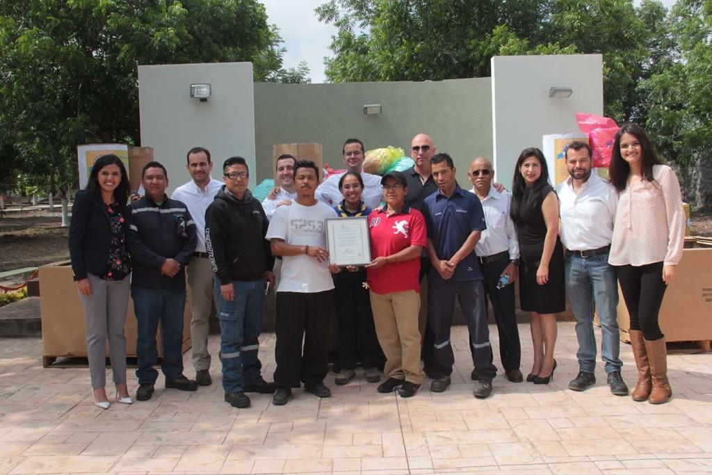 3. El equipo de Daimler en la zona norte entregó la donación a Scouts Saltillo ante la Auditoría Superior del Estado de Coahuila
