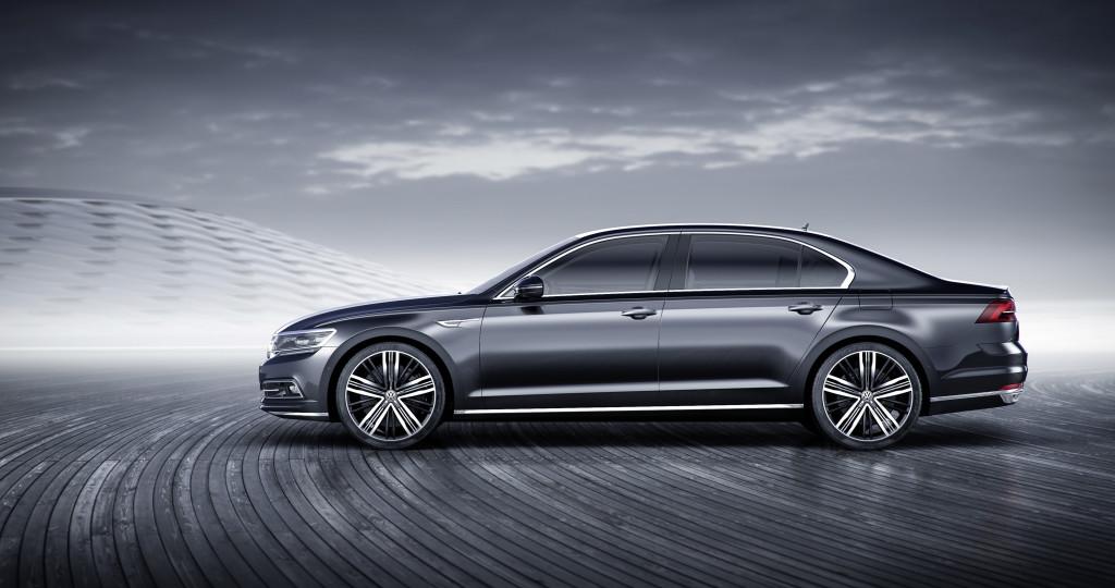 Der neue Volkswagen Phideon (China)