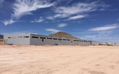 Continúa con pasos grandes la construcción de la planta de Goodyear en San Luis Potosí