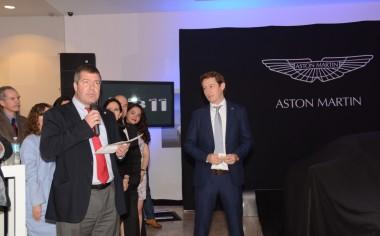 Aston Martin presenta nuevo DB11 en México