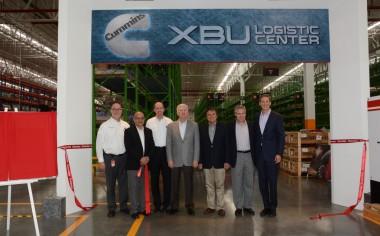 Cummins da apertura al nuevo centro de distribución X-BU