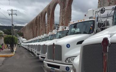 Entrega Kenworth 51 unidades a Red  Ambiental en Querétaro