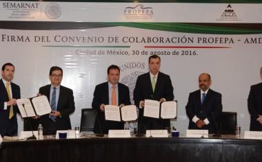 Firman Convenio de Colaboración: Profepa-AMDA
