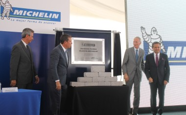 Arranca la construcción de la nueva planta de Michelin en León