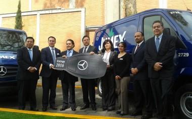 Mercedes-Benz Vanes entrega 31 unidades Sprinter a Grupo JUMEX