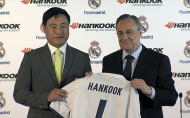 Hankook Tire y Real Madrid firman contrato de sociedad global