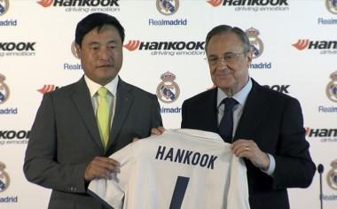 Hankook Tire y Real Madrid firman contrato de sociedad global