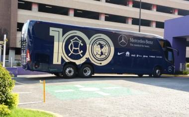 Mercedes-Benz Autobuses celebra los 100 años del Club América