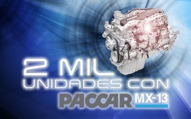 Motor MX-13 rompe record de ventas