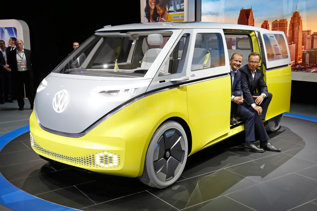 NAIAS Detroit 2017, Volkswagen Pressekonferenz