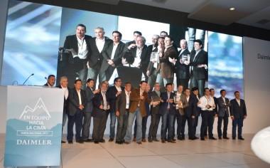 Daimler reconoce a los mejores Distribuidores