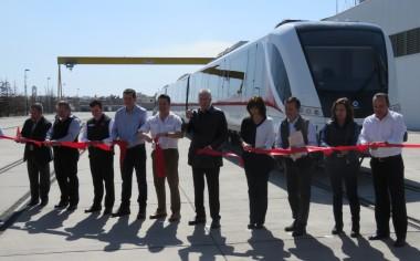 Alstom entrega el primer tren de la línea 3 en Guadalajara