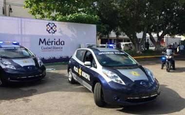 Nissan presenta Patrullas Cero Emisiones en Mérida