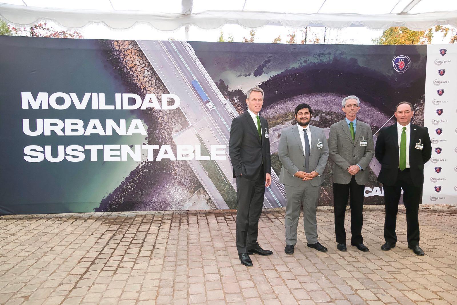 Tecnología Euro 6 de Scania llega a Chile