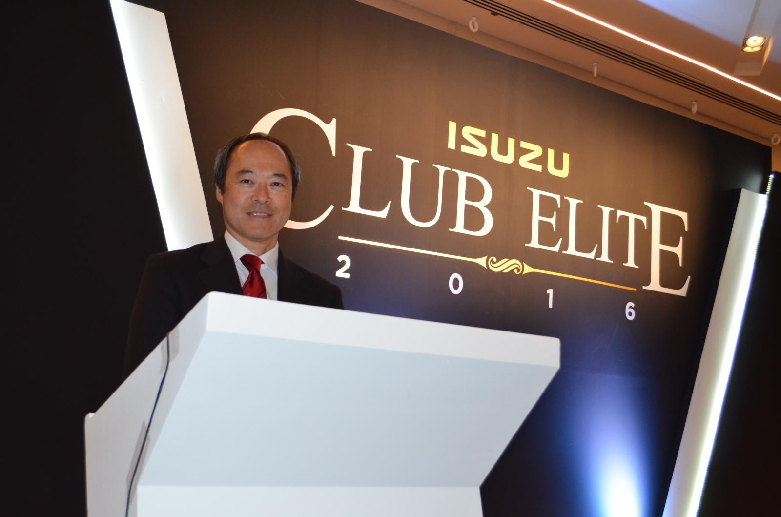 Club Elite, premio al esfuerzo de concesionarios Isuzu
