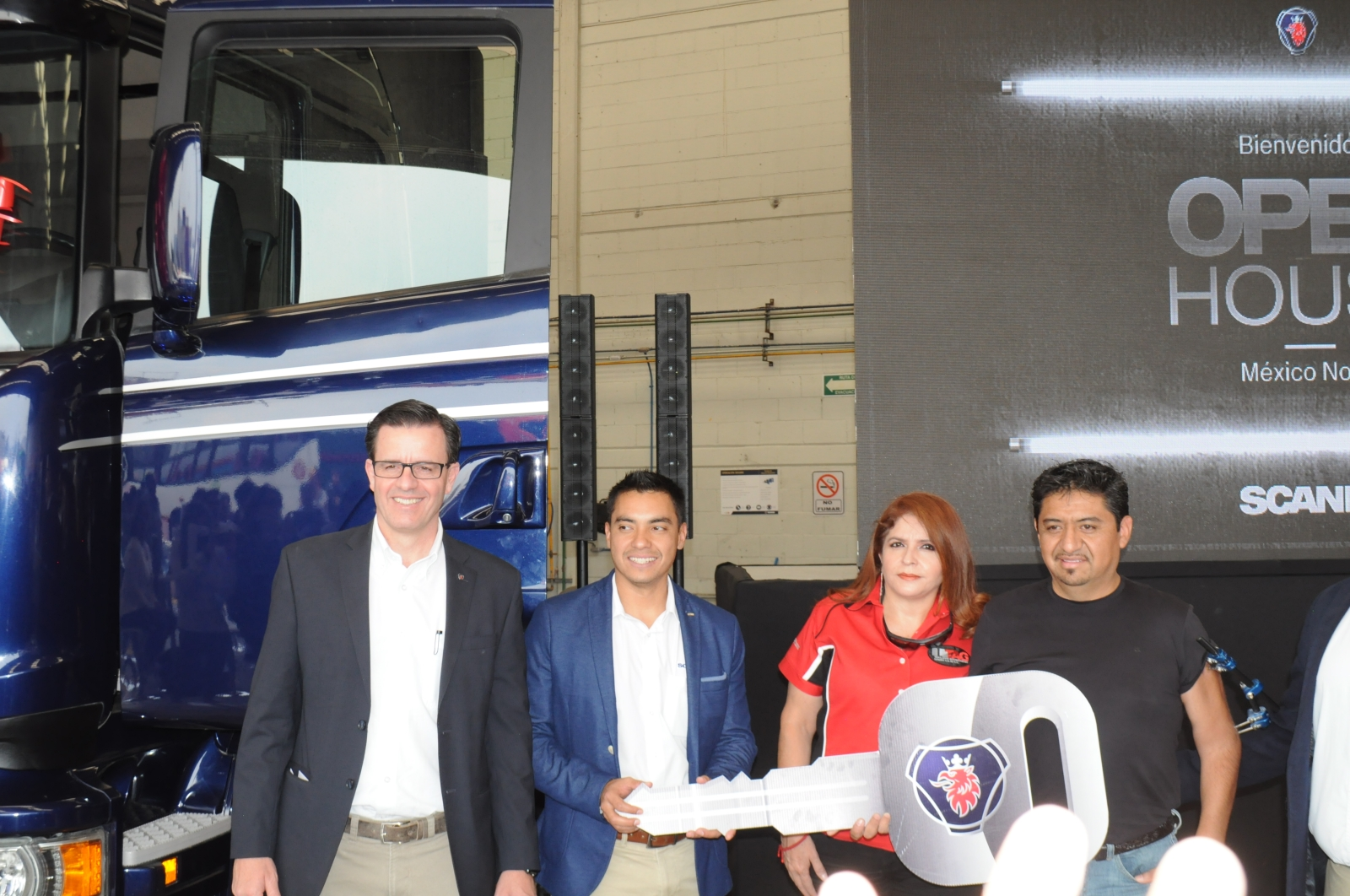 Scania celebra su primer Open House