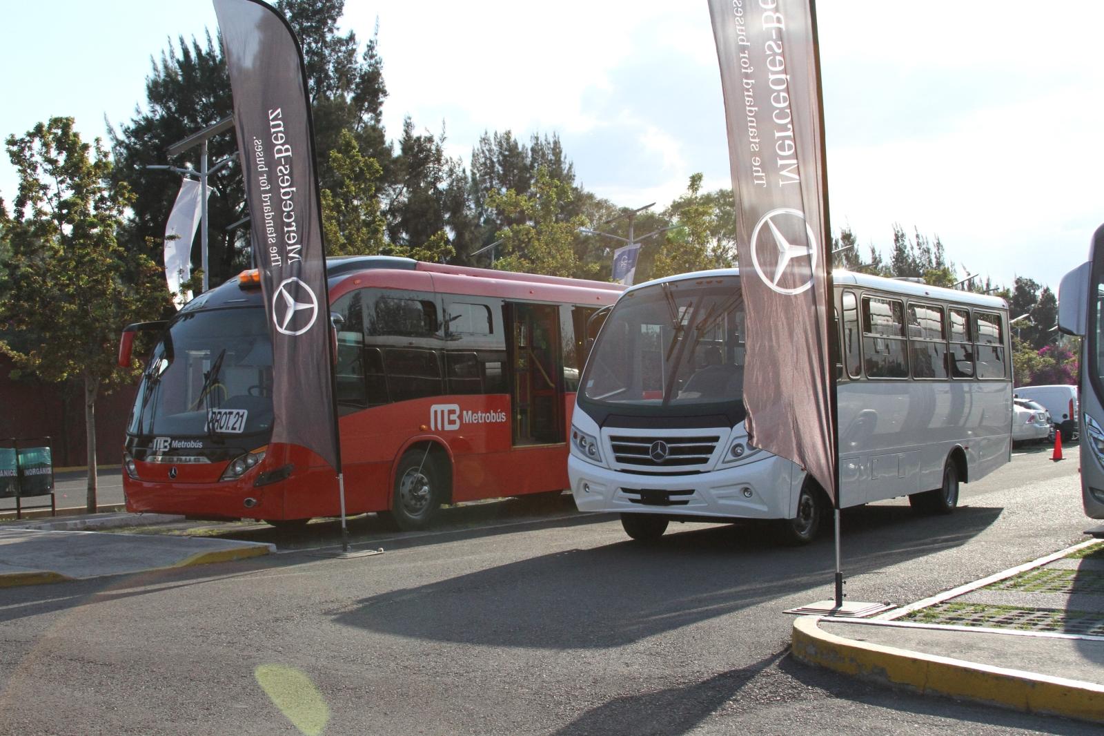 Mercedes-Benz, con la última tecnología para autobuses