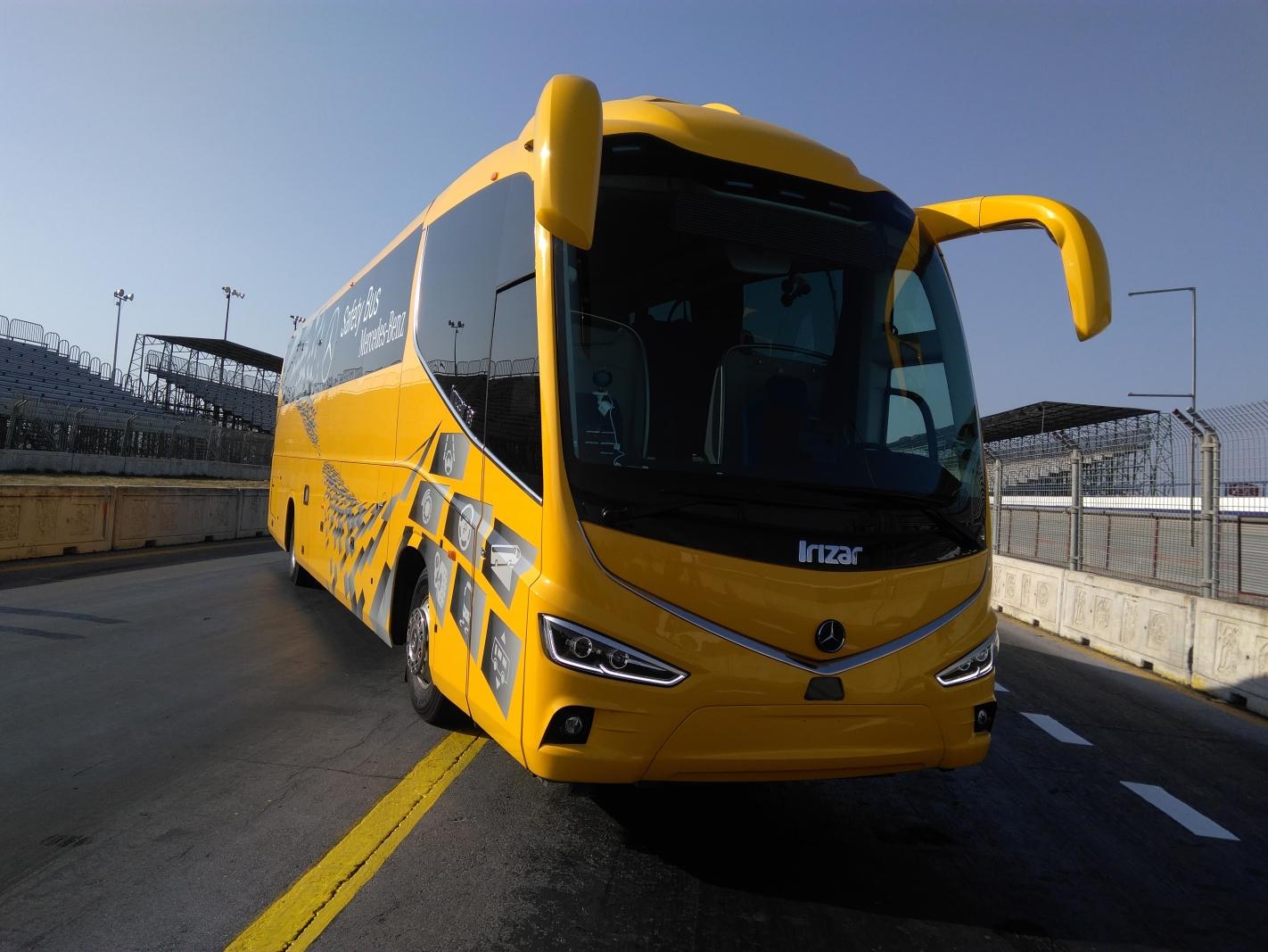 Safety Bus, máxima seguridad en autobuses foráneos