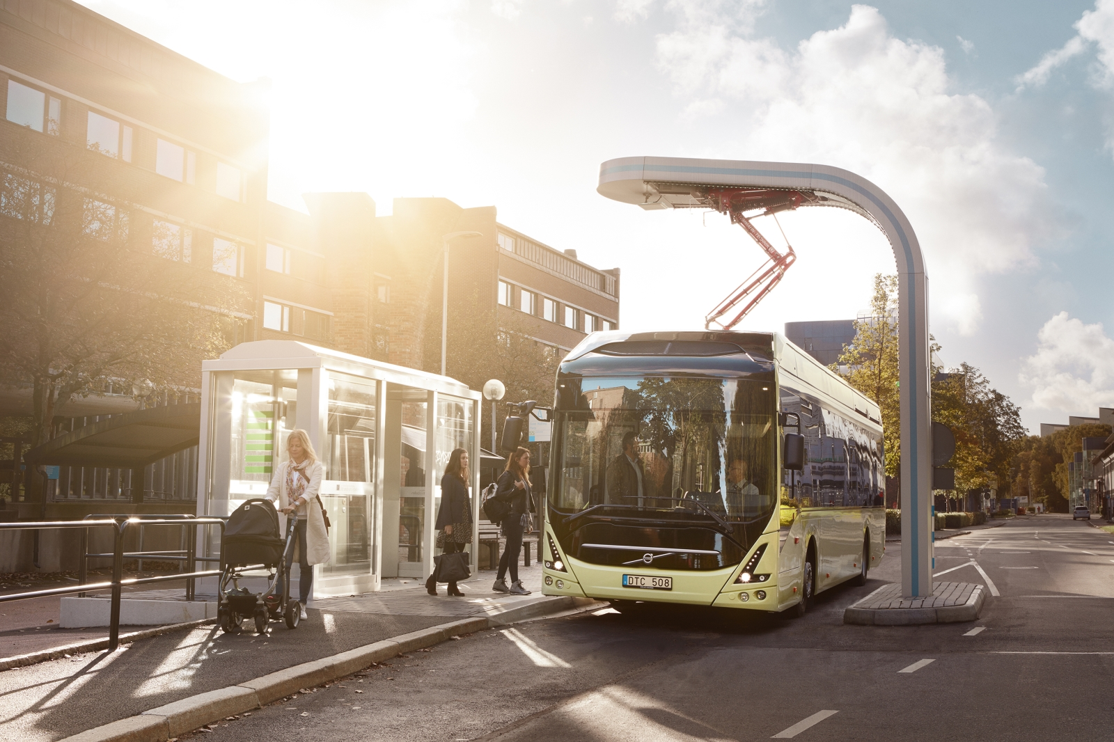 Nova Bus LFSe, lo más nuevo de Volvo Buses