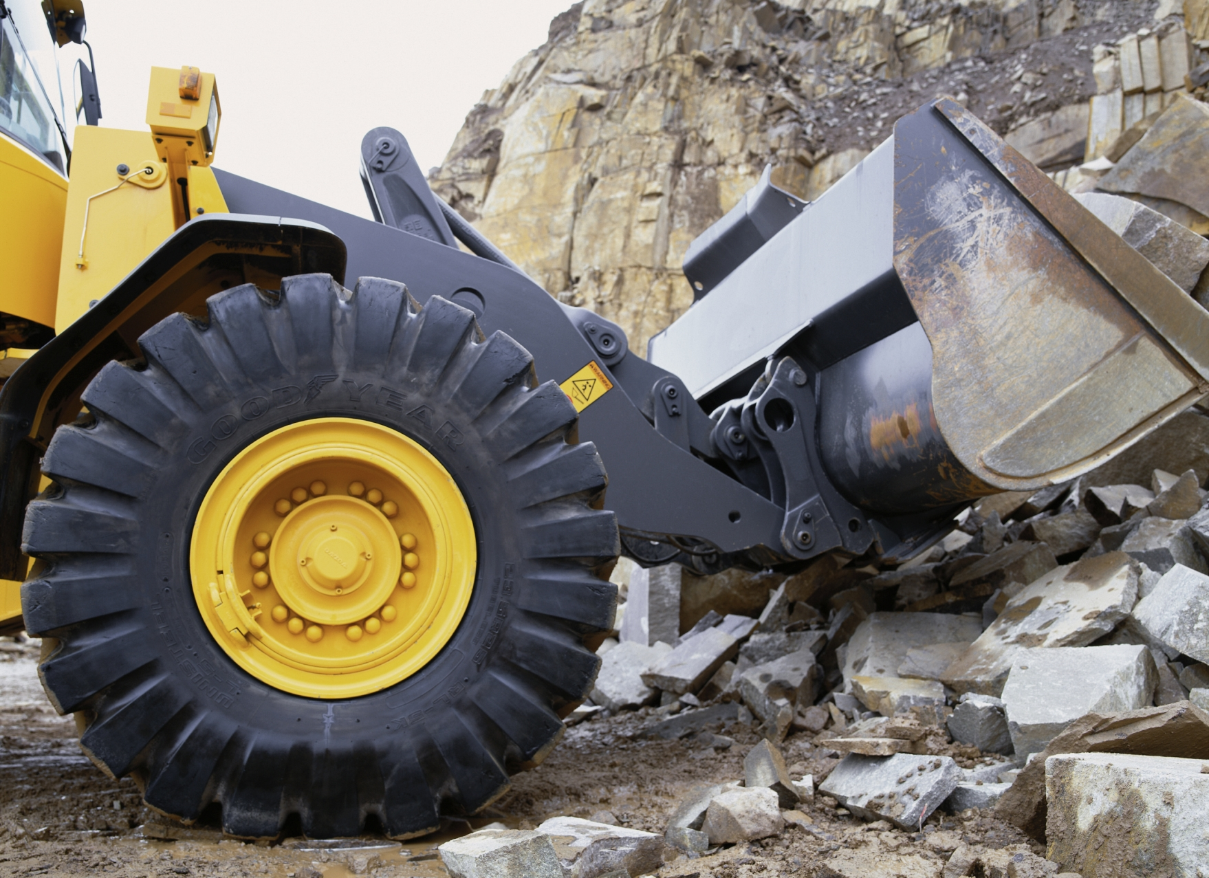 Goodyear, con avanzada ingeniería en neumáticos OTR