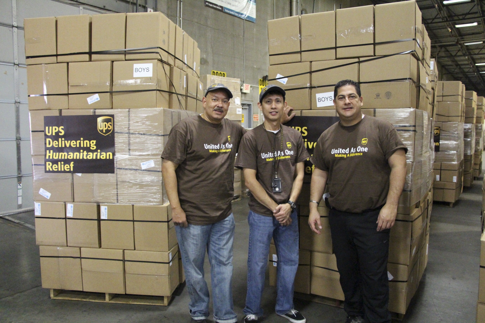 Donará UPS 1 mdd para recuperación de Texas y Louisiana tras huracán Harvey