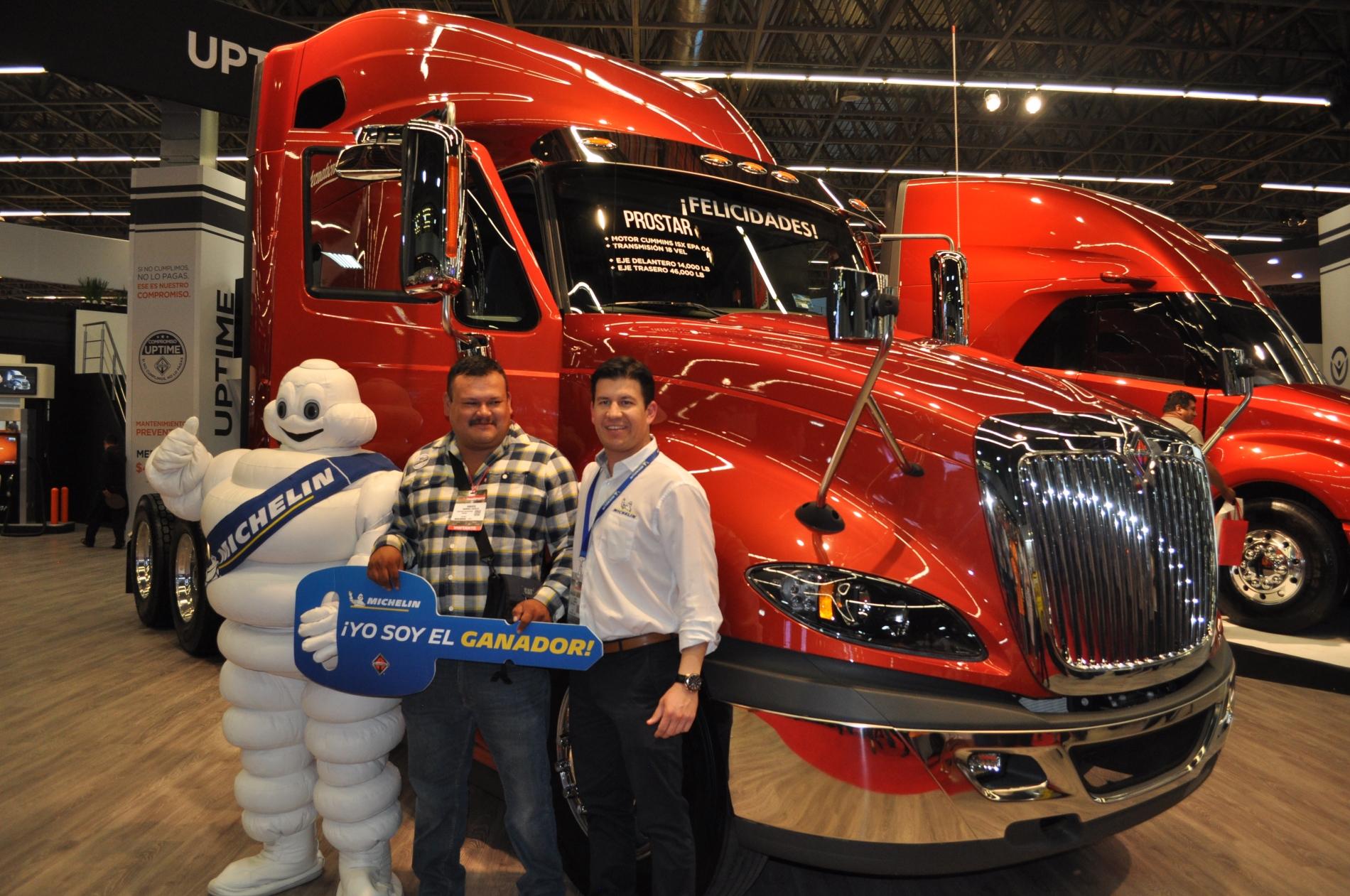 Michelin ofrece mucho más que llantas en Expo Transporte 2017