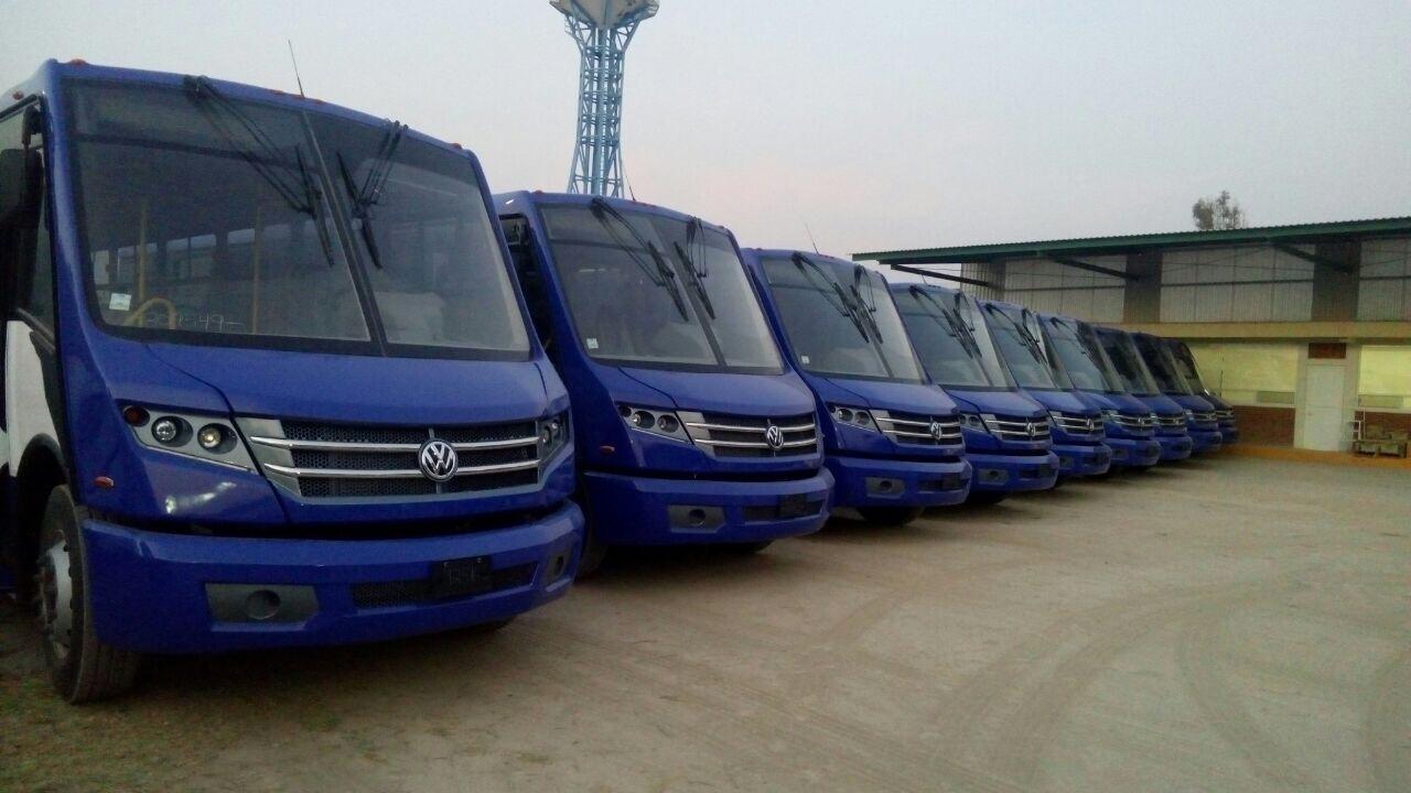 """El Volksbus """"Huracán"""" comenzará a circular por la CDMX"""