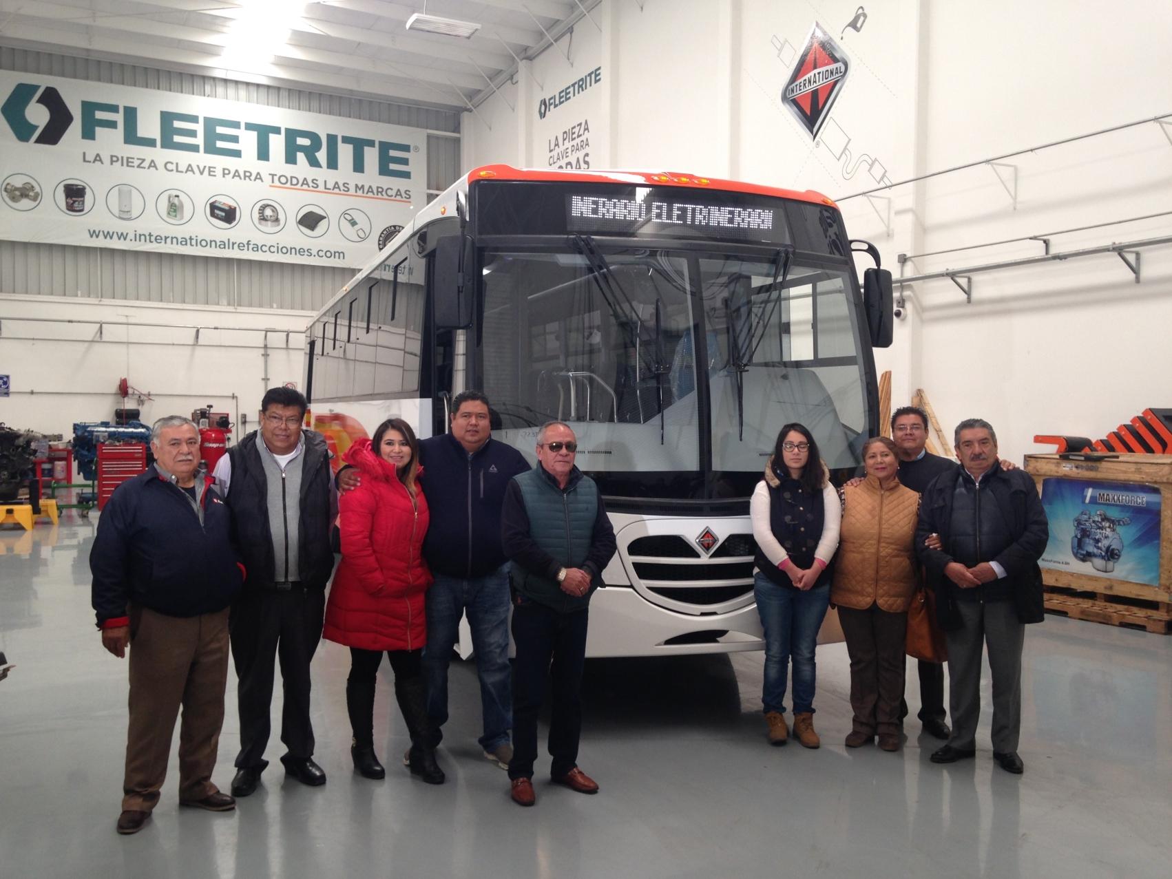 Navistar desarrolla unidad integral para Autobuses México-Zumpango