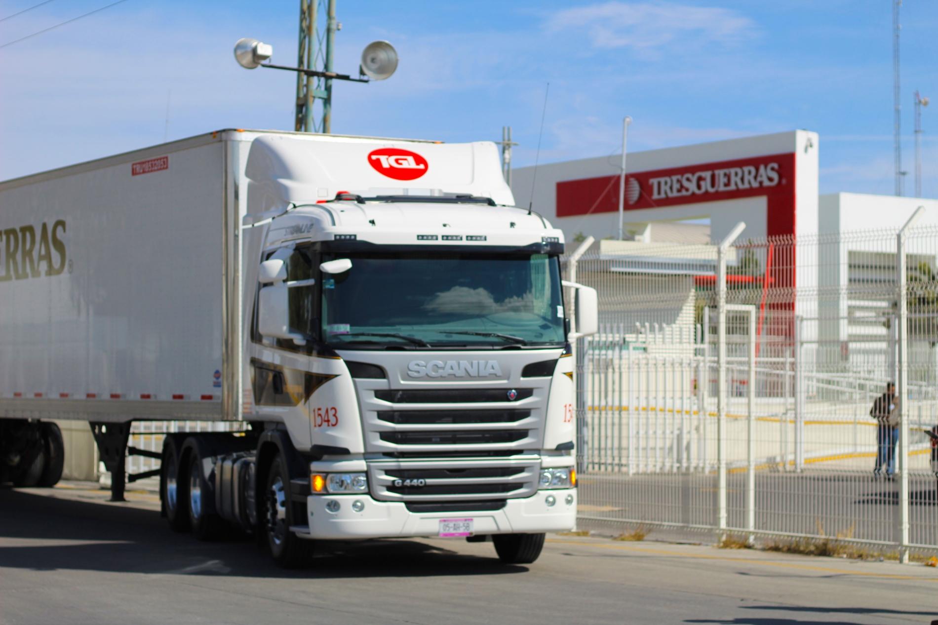 Autotransportes de Carga Tresguerras renueva vínculos con Scania
