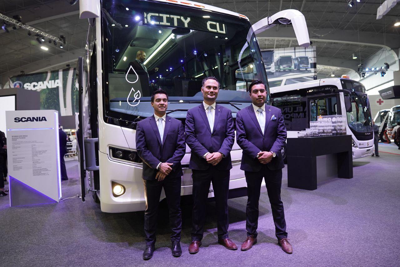 Seguridad, la prioridad de Scania en Expo Foro 2018