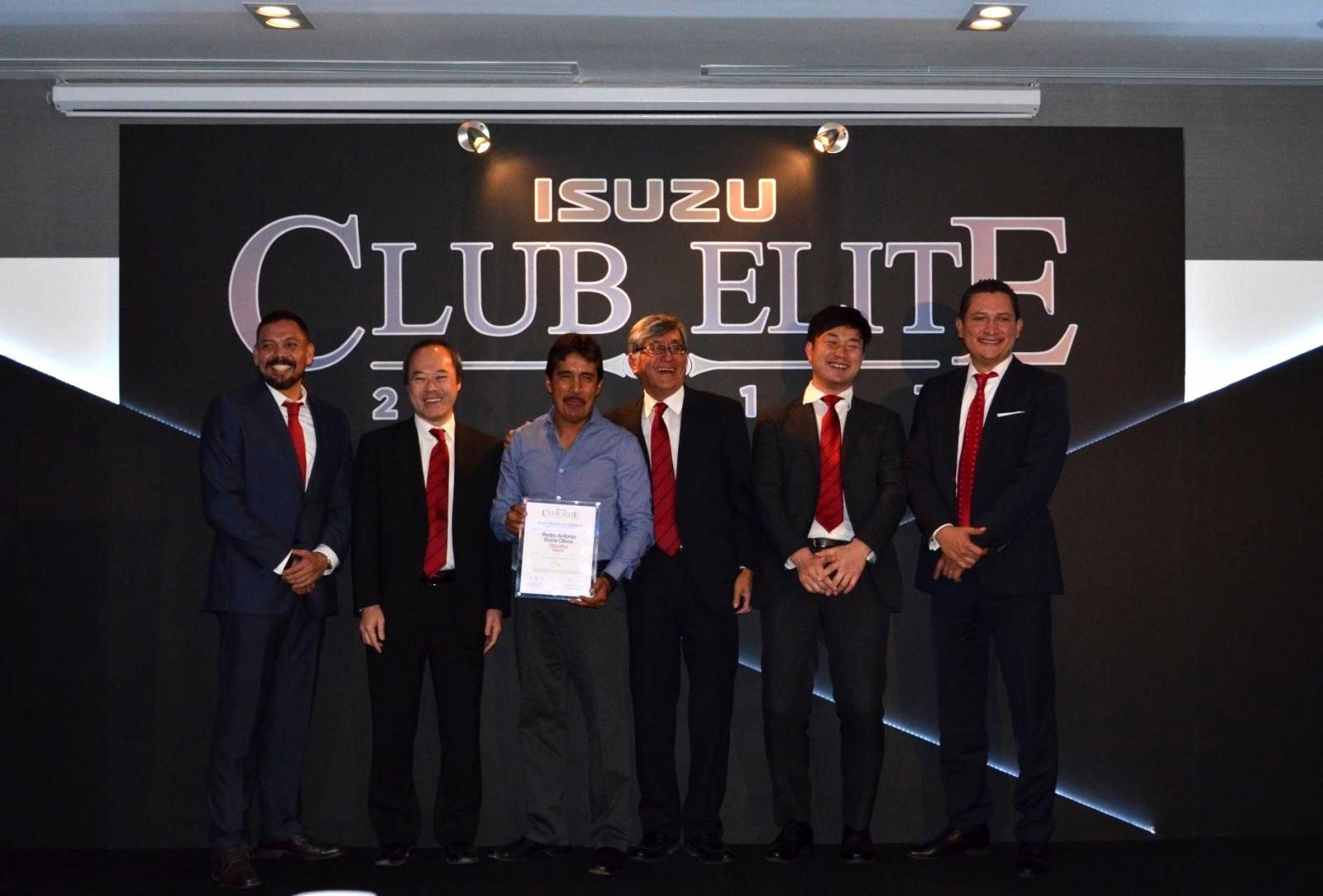 Club Elite: Isuzu reconoce a lo mejor del 2017 en ventas