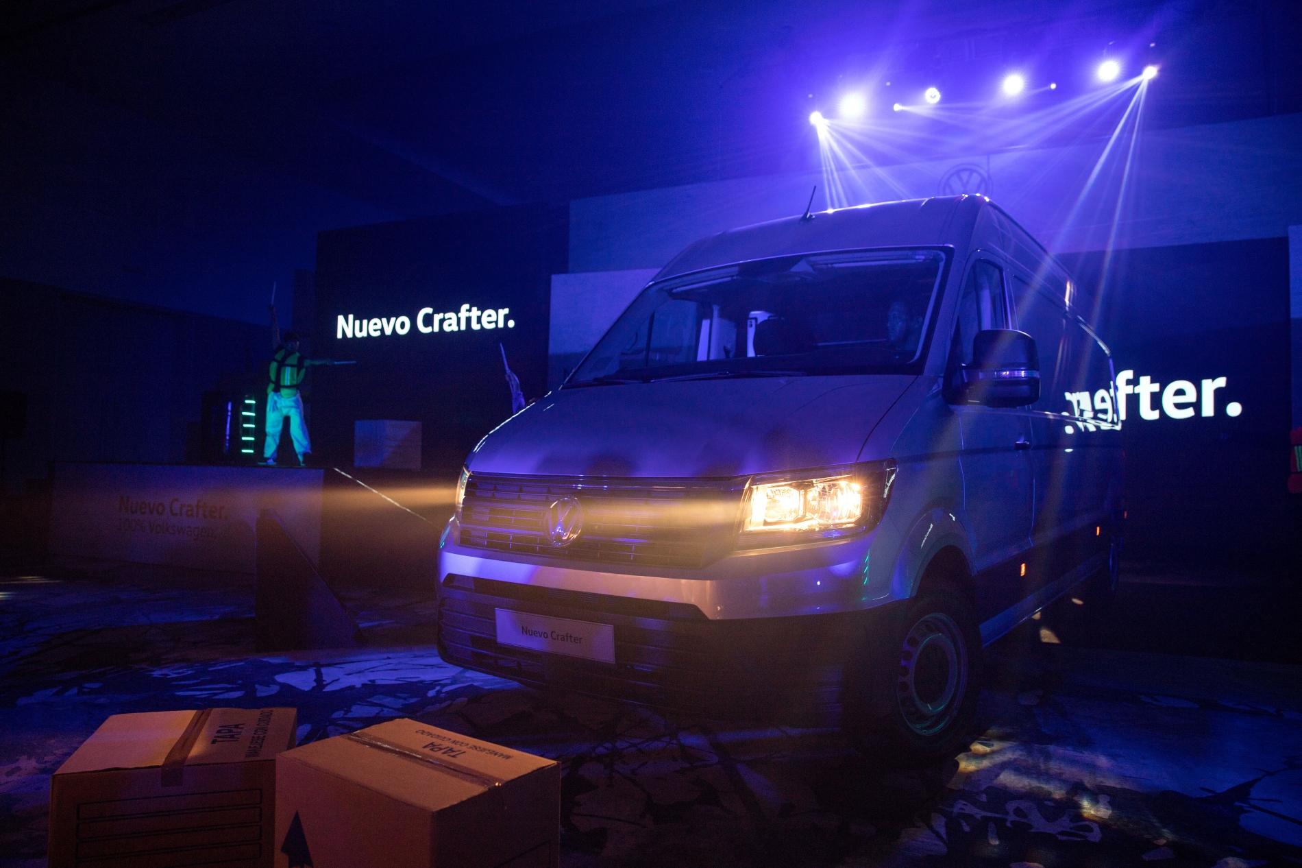 Nuevo Crafter: ejemplo de versatilidad en vehículos comerciales