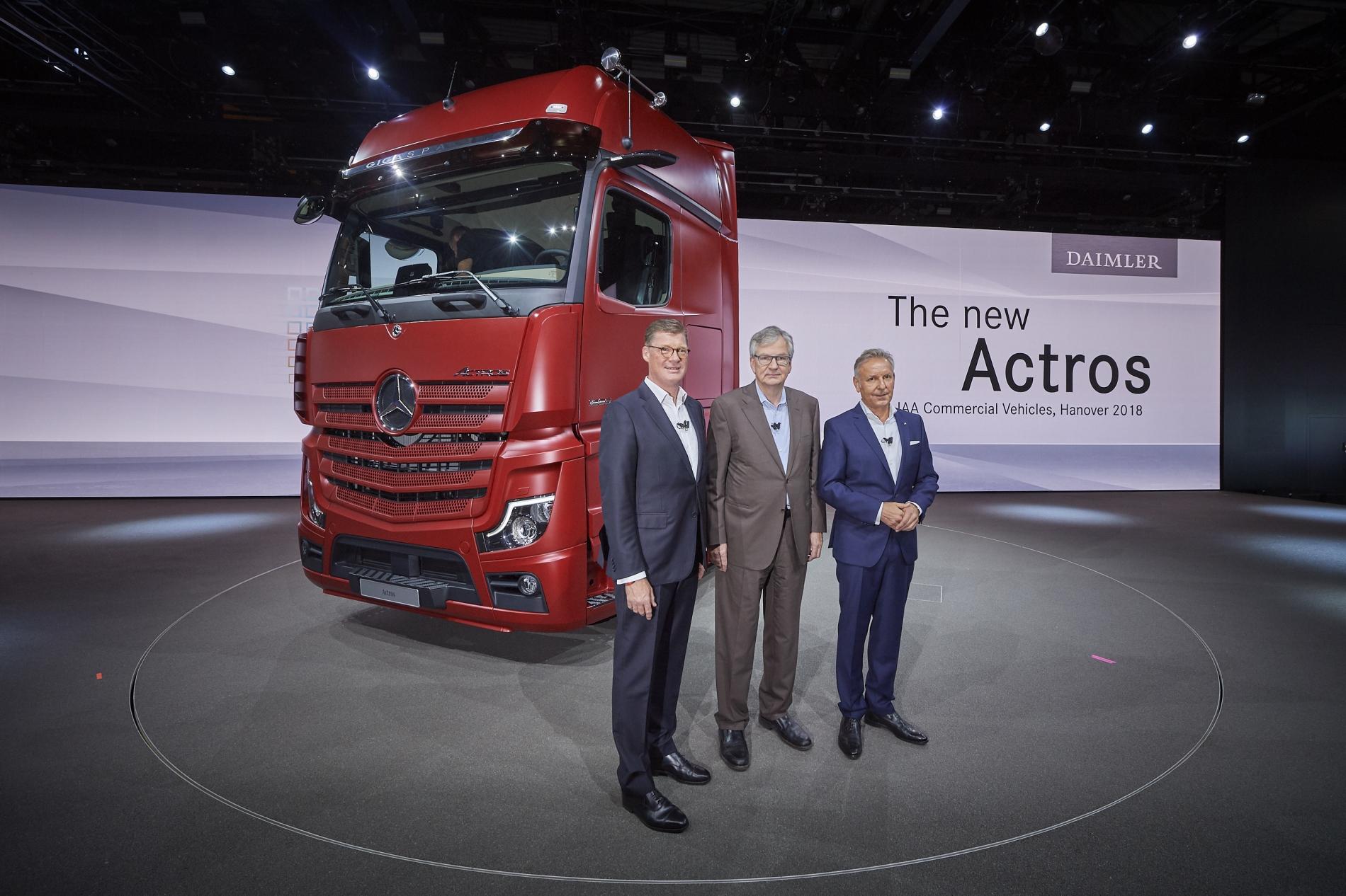 Daimler: una ola de innovaciones en la IAA  Hannover
