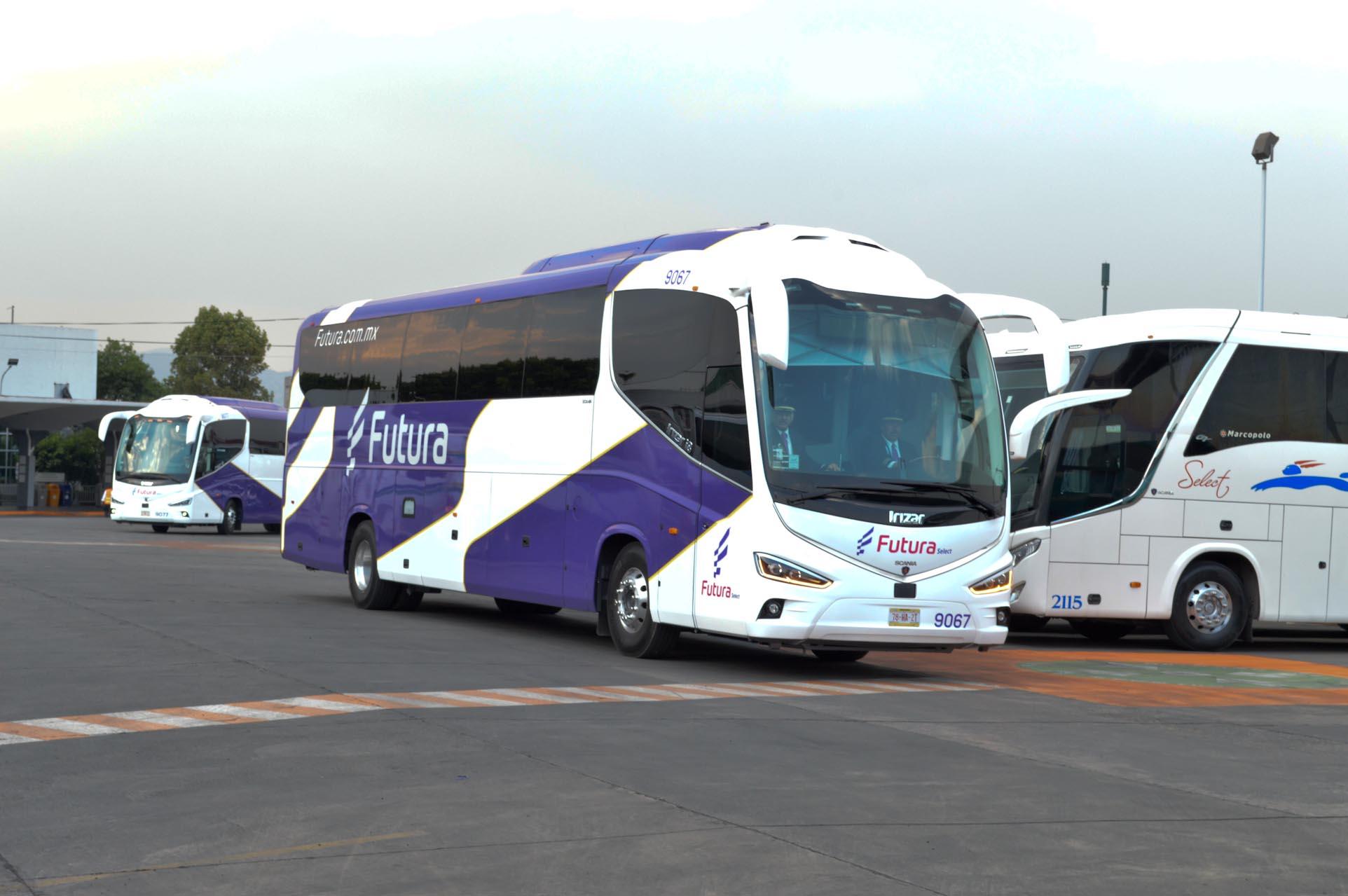 Futura Select consiente a sus pasajeros; estrena imagen y buses