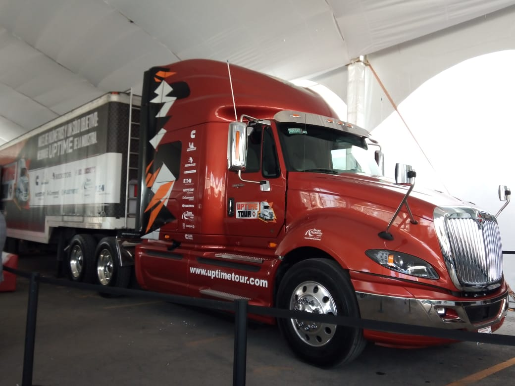 Reafirma UPTIME Tour compromiso con transportistas