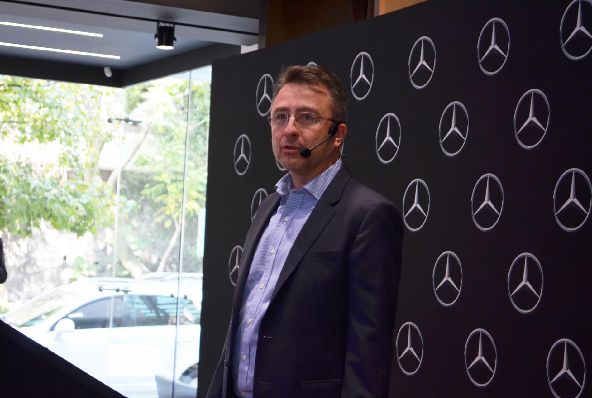 Un Mercedes-Benz de Clase A mexicano