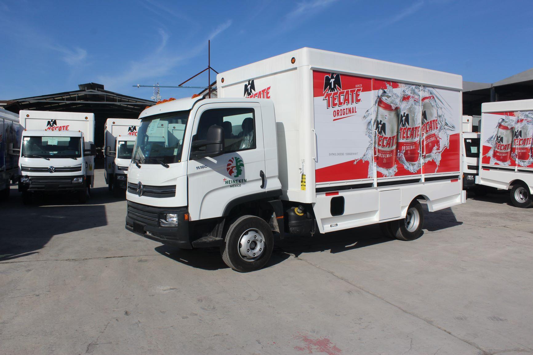 Entrega MAN Truck & Bus unidad Delivery número 588 a Heineken