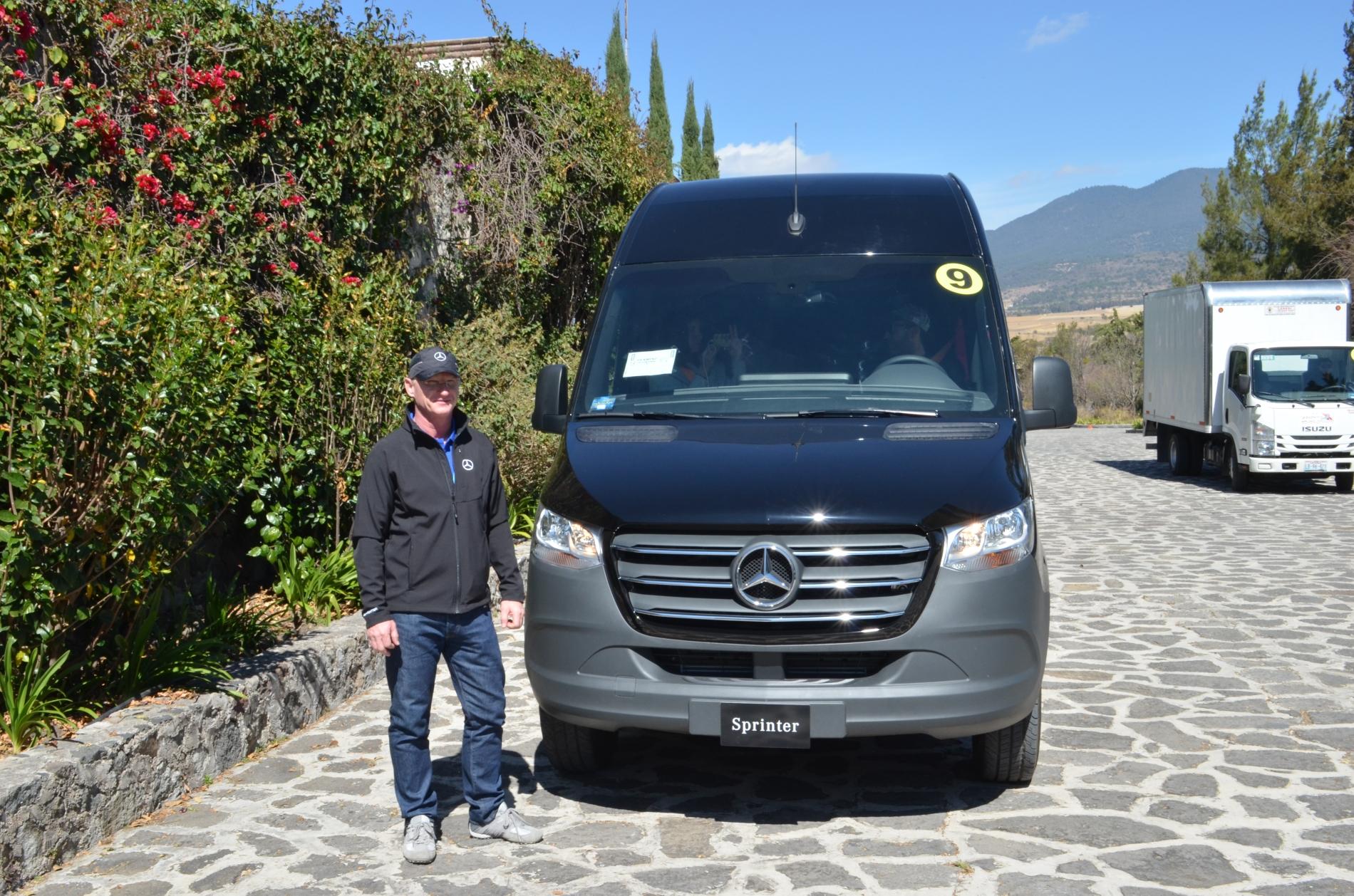 Nueva Sprinter de Mercedes-Benz: tercera revolución en el segmento de vanes