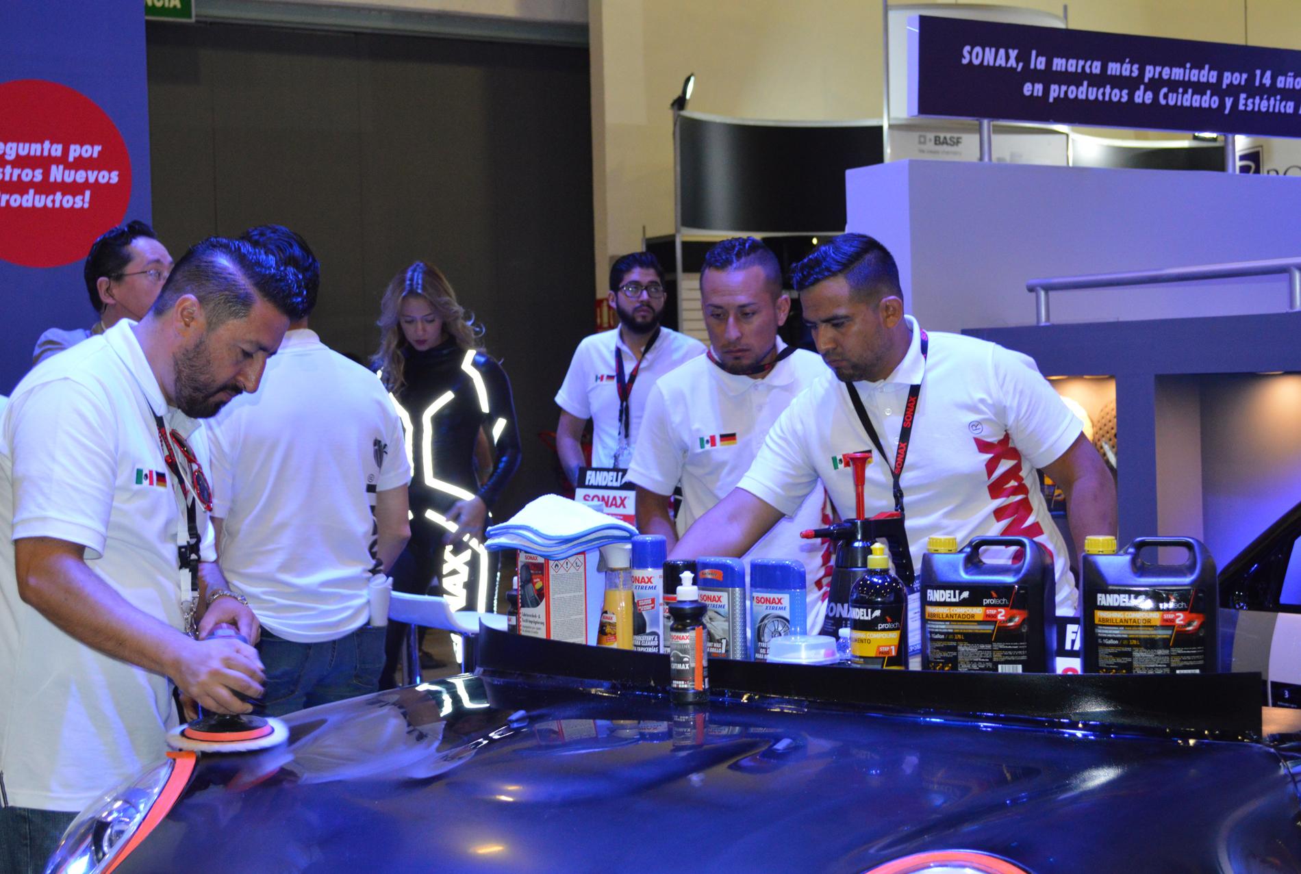 Expo CESVI, vitrina para la reparación de vehículos siniestrados